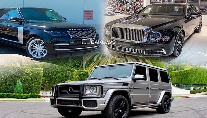 Azərbaycanda satışda olan ən bahalı 10 avtomobil