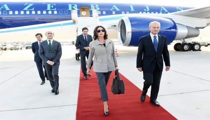 Начался официальный визит первого вице-президента Азербайджана Мехрибан Алиевой в Италию