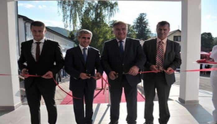 Состоялось открытие Центра неотложной медицинской помощи, построенного в Боснии и Герцеговине при поддержке Фонда Гейдара Алиева
