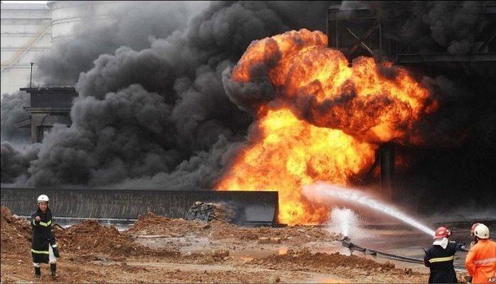 Взрыв на электроподстанции в Самухе, есть раненые