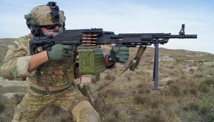 Азербайджан приступил к серийному производству штурмового пулемета типа HP-7,62