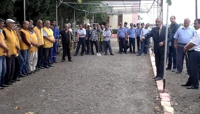 На Сальянском железнодорожном узле проведены комплексные учения по гражданской обороне