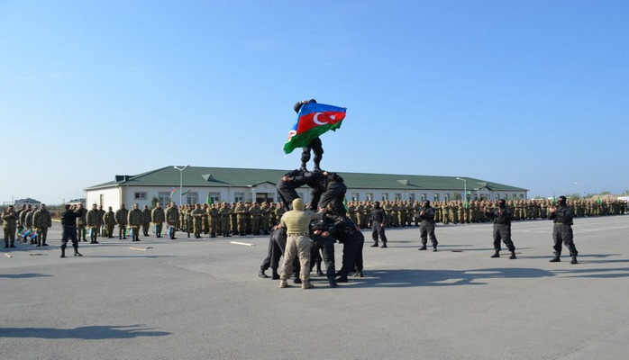 В воинских частях состоялась церемония принятия военной присяги