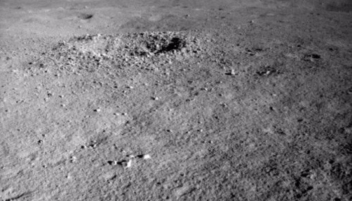 На тёмной стороне Луны найдено неопознанное вещество