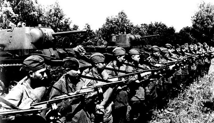 Sovet ordusunda azərbaycanlılardan ibarət ilk qoşun birləşməsi