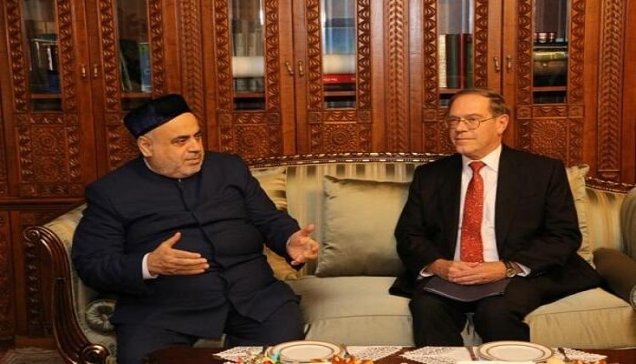 Аллахшукюр Пашазаде принял посла США