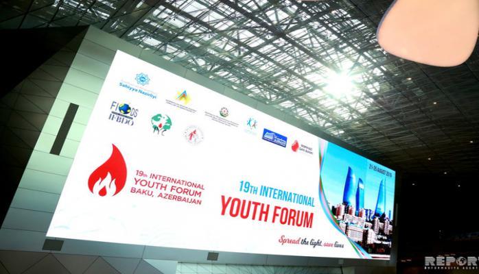 Bakıda XIX Beynəlxalq Gənclər Forumu başlayıb