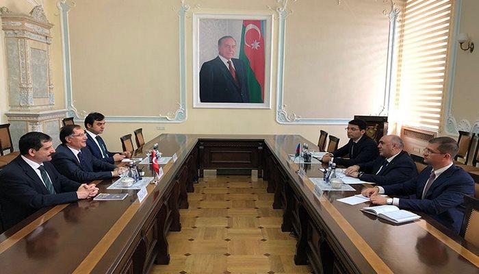 Baş prokuror Zakir Qaralov Türkiyənin Baş Ombudsmanı ilə görüşüb