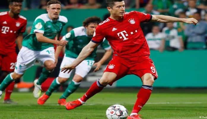 'Бавария' одолела 'Вердер' и вышла в финал Кубка Германии