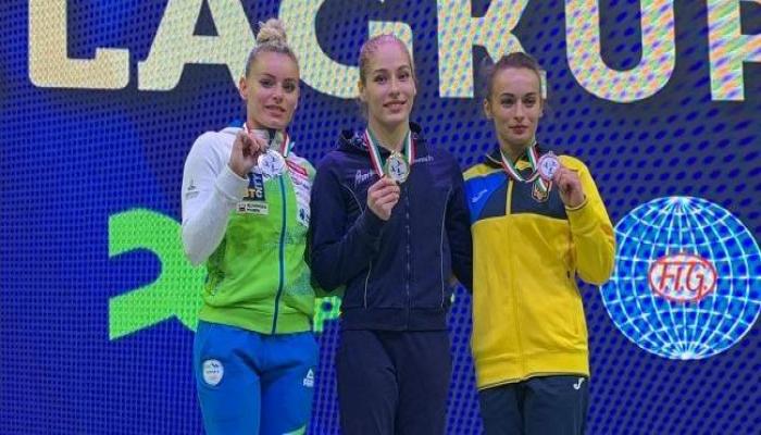 """Азербайджанская гимнастка завоевала """"золото"""" на Кубке мира"""