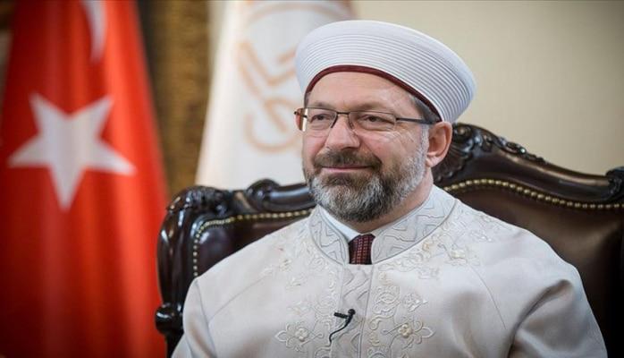 Председатель Управления по делам религии Турции поблагодарил Президента Ильхама Алиева