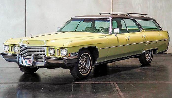 """Elvis Preslinin nadir """"Cadillac"""" avtomobili hərracda gözlənilmədən ucuz qiymətə satılıb"""
