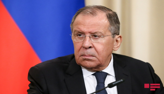 """Sergey Lavrov İrəvanda qondarma """"erməni soyqırımı"""" abidəsini ziyarət edib"""