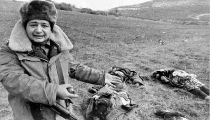 Lenta.ru о трагедии в Ходжалы: Женщины и дети в судорогах умирали на снегу