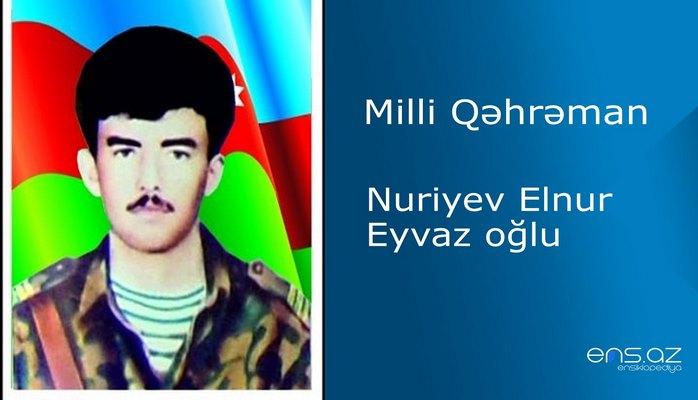 Elnur Nuriyev Eyvaz oğlu