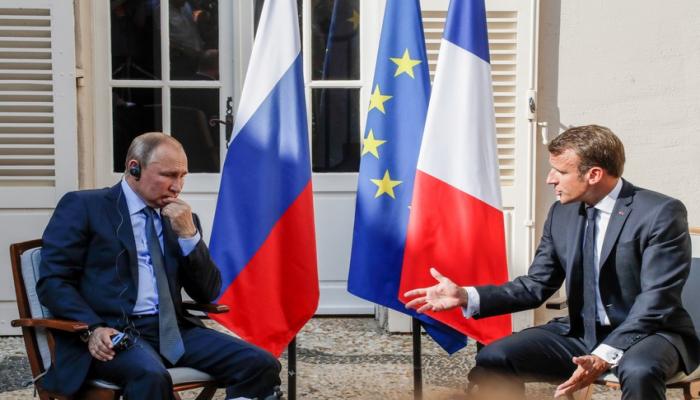 Makronla Putin arasındakı danışığın KİV-də dərci araşdırılır