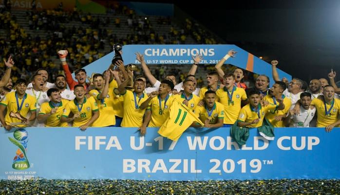 Braziliya dünya çempionu oldu