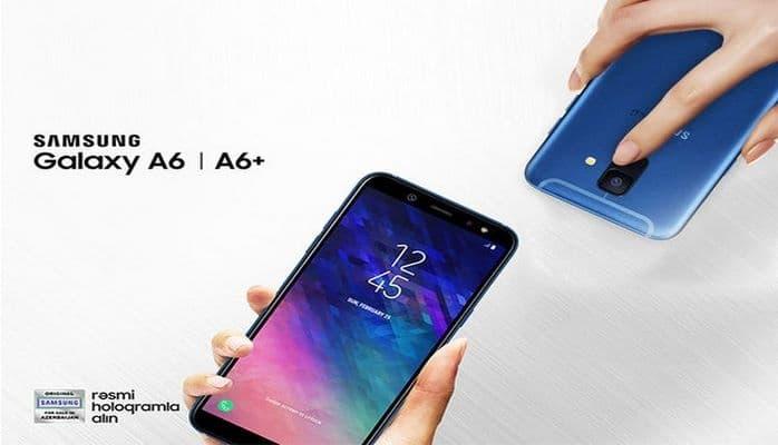 """Yeni """"Samsung Galaxy A6/A6+"""" smartfonlarının rahat dizaynı"""