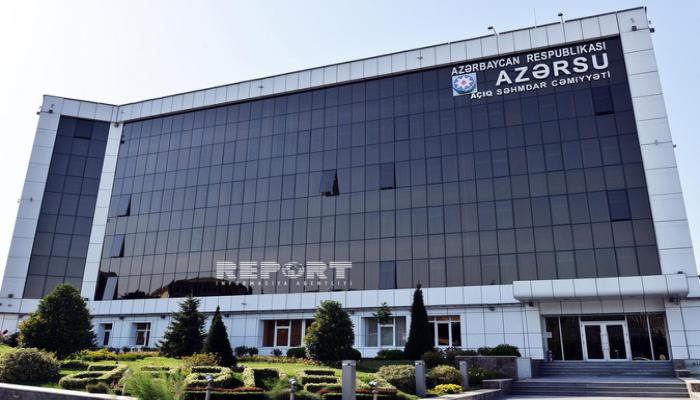 'Azərsu' gücləndirilmiş iş rejiminə keçəcək