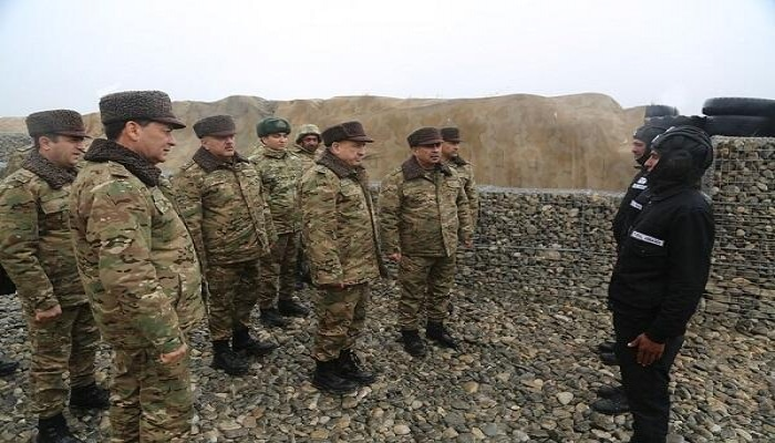 Генералы отправились на передовую