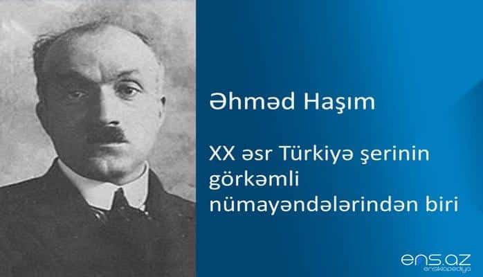 Əhməd Haşım