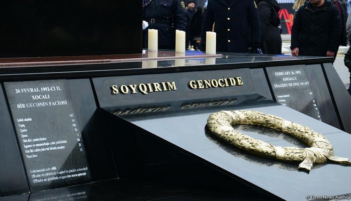 İcra Hakimiyyəti: Xocalı soyqırımının 27-ci ildönümü ilə əlaqədar Xocalı parkında hazırlıq işlərinə başlanılıb