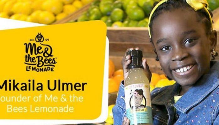 Limonad şirkətinin 11 yaşlı sahibəsi