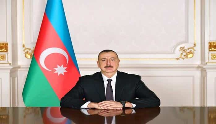 Президент Ильхам Алиев поздравил корейского коллегу