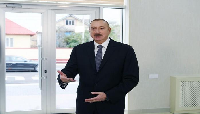 Президент Ильхам Алиев: Поставлена цель, чтобы во всех городах Азербайджана на 100% были реализованы полност ью отвечающие стандартам проекты питьевой воды