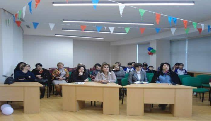 В бакинской школе состоялся открытый урок «Аристократ слова»