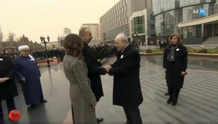 Prezident İlham Əliyev Ayaz Mütəllibovla görüşdü