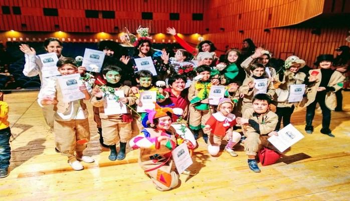 В Детском музыкальном театре школы-студии Бакинской музыкальной академии состоялась премьера музыкального спектакля