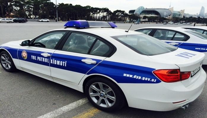 К регулированию дорожного движения в Баку привлечены дополнительные наряды полиции