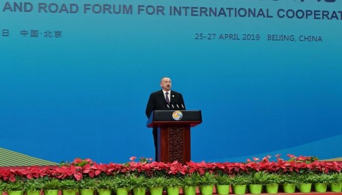 Президент Ильхам Алиев: Нагорно-карабахский конфликт - серьезная проблема не только для Азербайджана, но и для региональной стабильности и мира