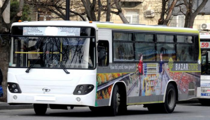 В Баку меняется схема движения автобусов