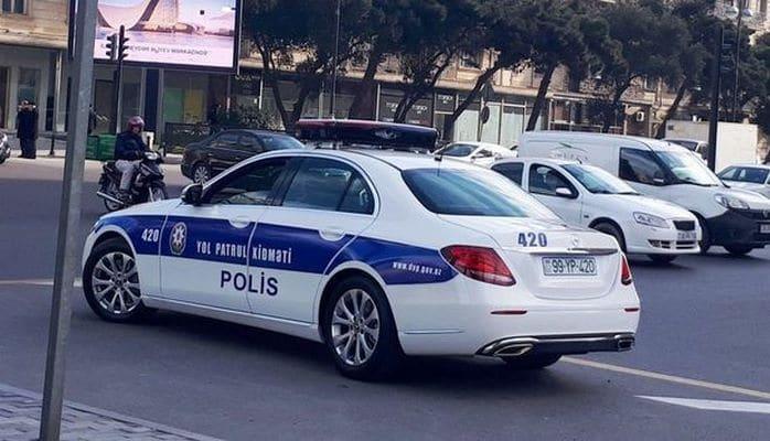"""В Азербайджане созданы группы """"Поддержка дорожной полиции"""""""