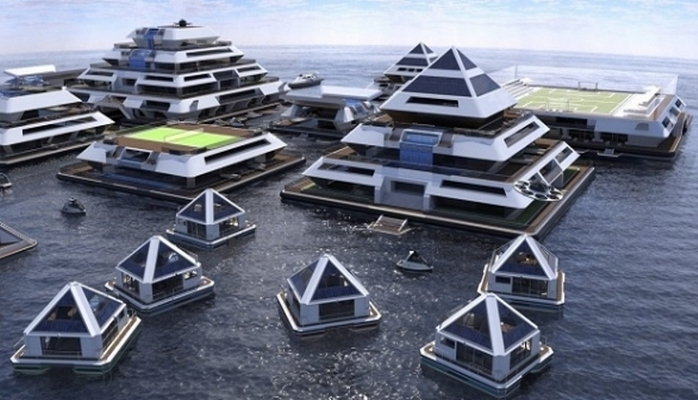 2020-ci ildə dəniz üzərində ilk ekoloji şəhər sakinlərini qəbul edəcək