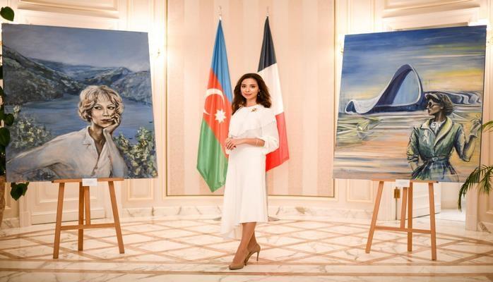 Неповторимый Азербайджан в работах Тамиллы Гасановой на персональной выставке в Париже.