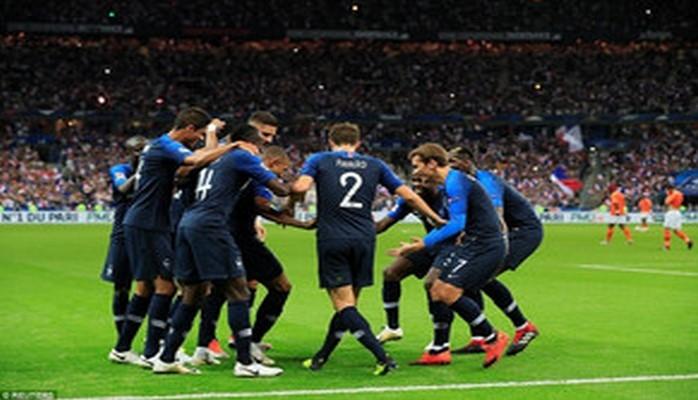 Франция одержала победу над Нидерландами в матче футбольной Лиги наций