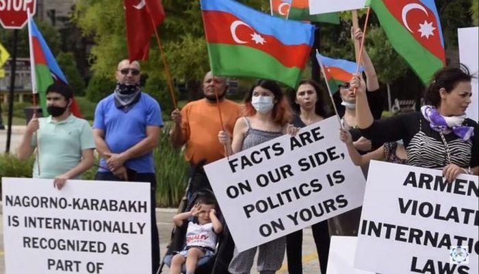 ABŞ-ın İllinoys ştatında erməni işğalçılığına etiraz aksiyası