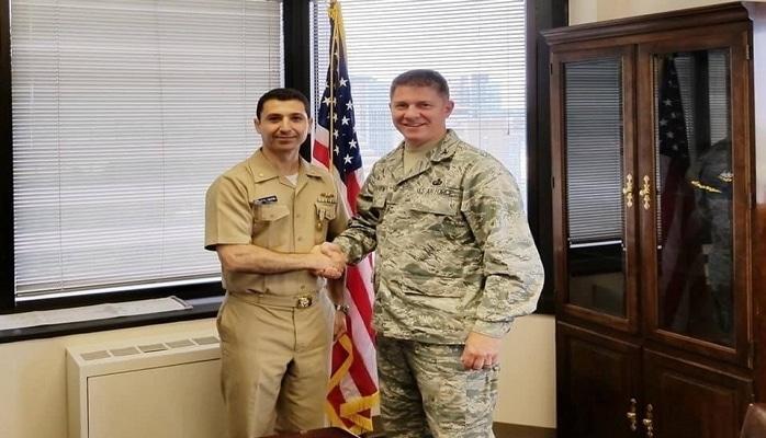 Azərbaycanlı zabit Amerikada nüfuzlu medala layiq görüldü