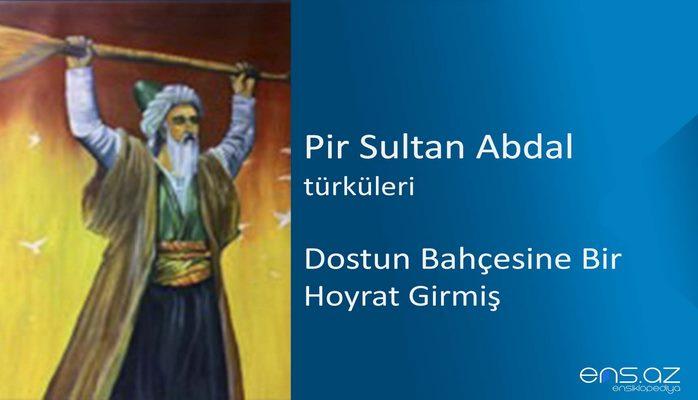 Pir Sultan Abdal -Dostun bahçesine bir hoyrat girmiş