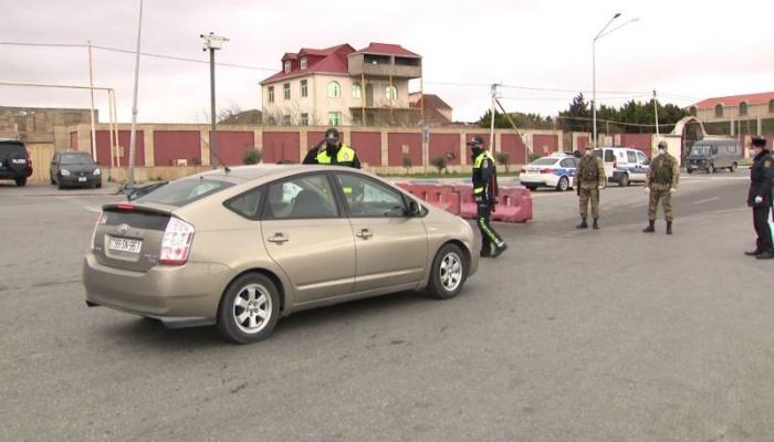 В Азербайджане за нарушение карантина за сутки привлечены к административной ответственности 2055 водителей