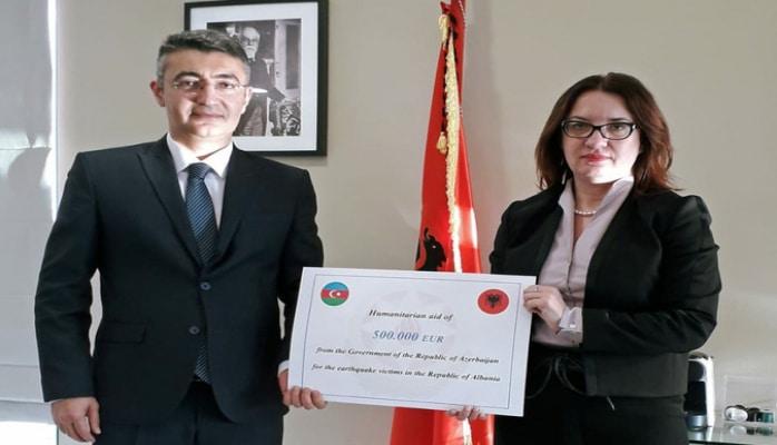 Албания получила гуманитарную помощь от Азербайджана