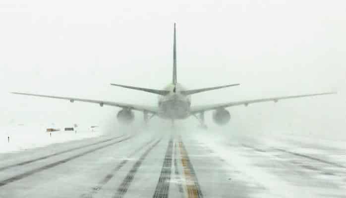 В Турции из-за сильного мороза отменен внутренний авиарейс