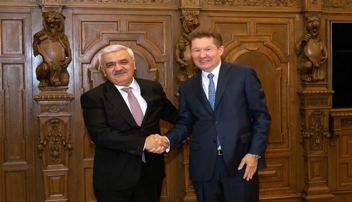 """""""Газпром""""и SOCAR обсудили перспективы сотрудничества"""
