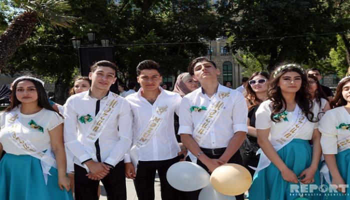 Главное управление полиции: 'Последний звонок' в школах Азербайджана прошел без инцидентов