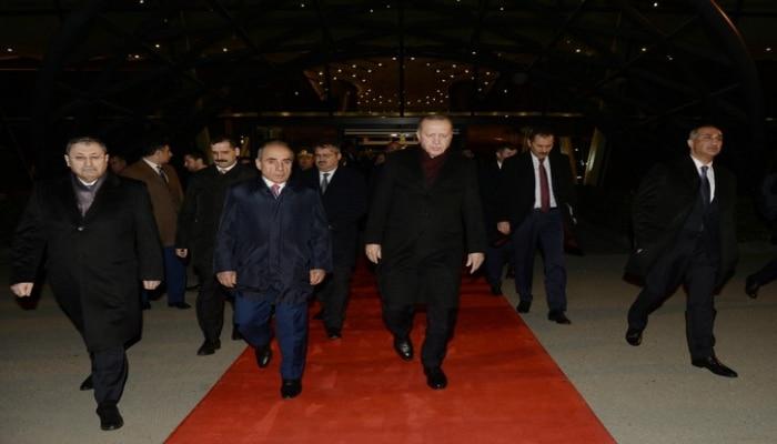 Завершился визит Эрдогана в Азербайджан