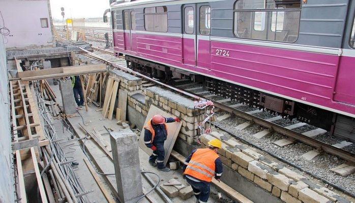 """С завтрашнего дня вход-выход на станцию метро """"Бакмил"""" временно ограничивается"""