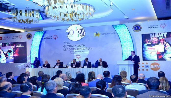 В Баку начался форум молодых лидеров Специального олимпийского движения